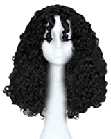 Anogol Hair Cap+Women's Curly Wigs Wavy Movie Tangled Cosplay Wig
