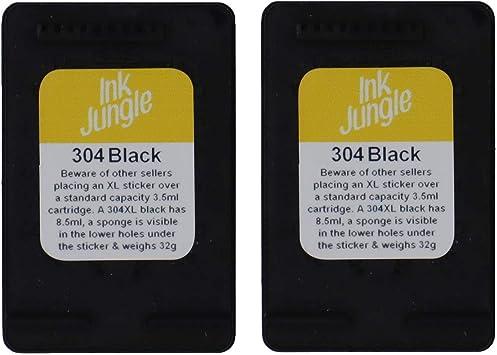 Ink Jungle - Cartuchos de Tinta para Impresora HP AMP 130 (2 ...