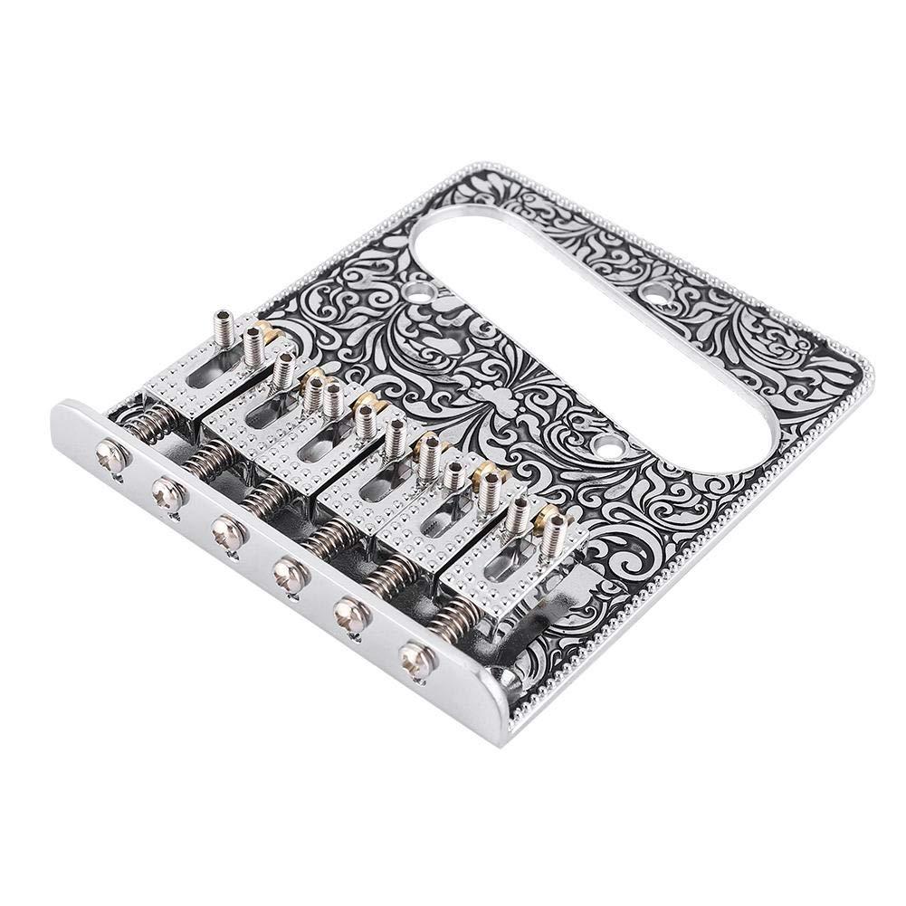 Drfeify Chevalet de Guitare /électrique de 6 Cordes Accessoire pour Guitare /électrique de Style TL