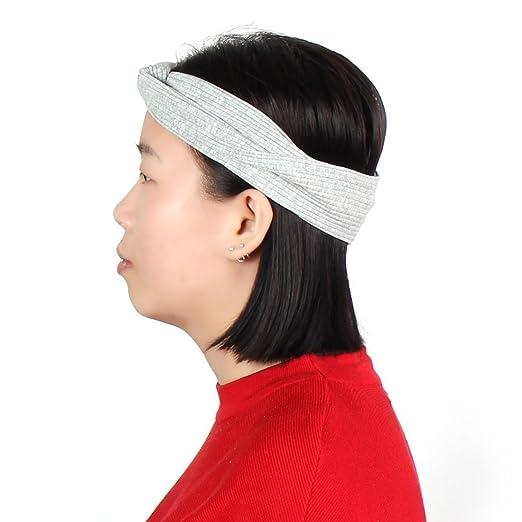 Amazon.com : eDealMax Tela que se ejecuta Yoga Deportes Headwear elástico torcedura anudada Hairband Venda del Abrigo : Sports & Outdoors