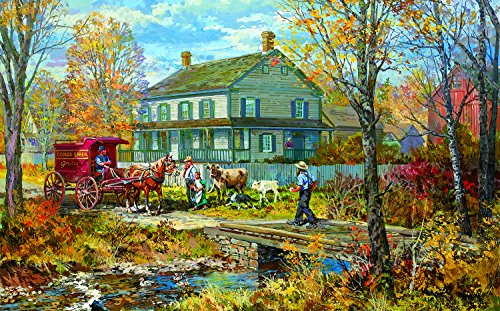 Autumn at The Schneider House 300 Piece Jigsaw Puzzle by SunsOut