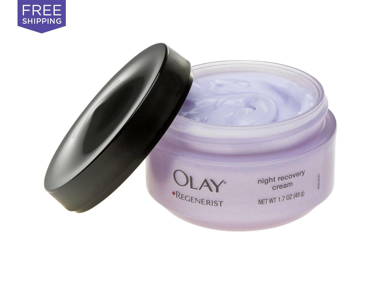 Olay Regenerist Regenerating Night Recovery Moisturizer Cream 1.7 Oz
