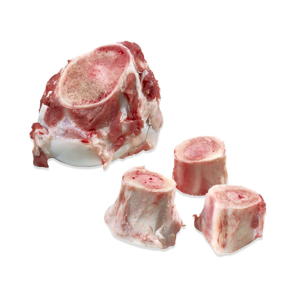 BRAVO 294086 Beef Marrow Bones Over 4-Inch Box, 25-Pound