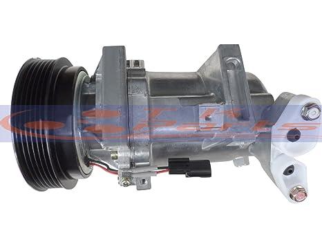 tkparts nuevo a/c compresor 8201025121 para Renault Fluence L30 _/Dacia Sandero 1.5