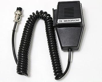 amazon com wishring 4 pin cb microphone replacement for cobra rh amazon com