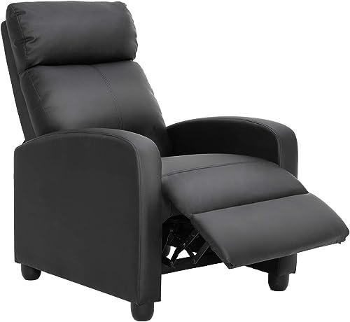PU Leather Recliner Chair Lounge Chair - a good cheap living room chair