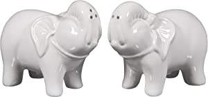 Home Essentials & Beyond 74495 Elephant Shape Salt & Pepper Shaker