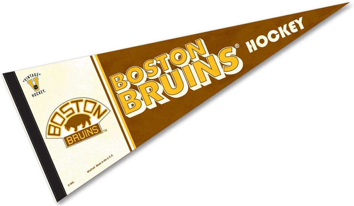 12 X 30 WinCraft NHL 63329081 Boston Bruins Premium Pennant