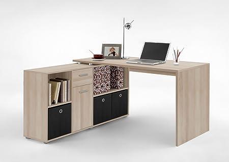 Dreams4Home de escritorio Byron - mesa, mesa de oficina, con un ...