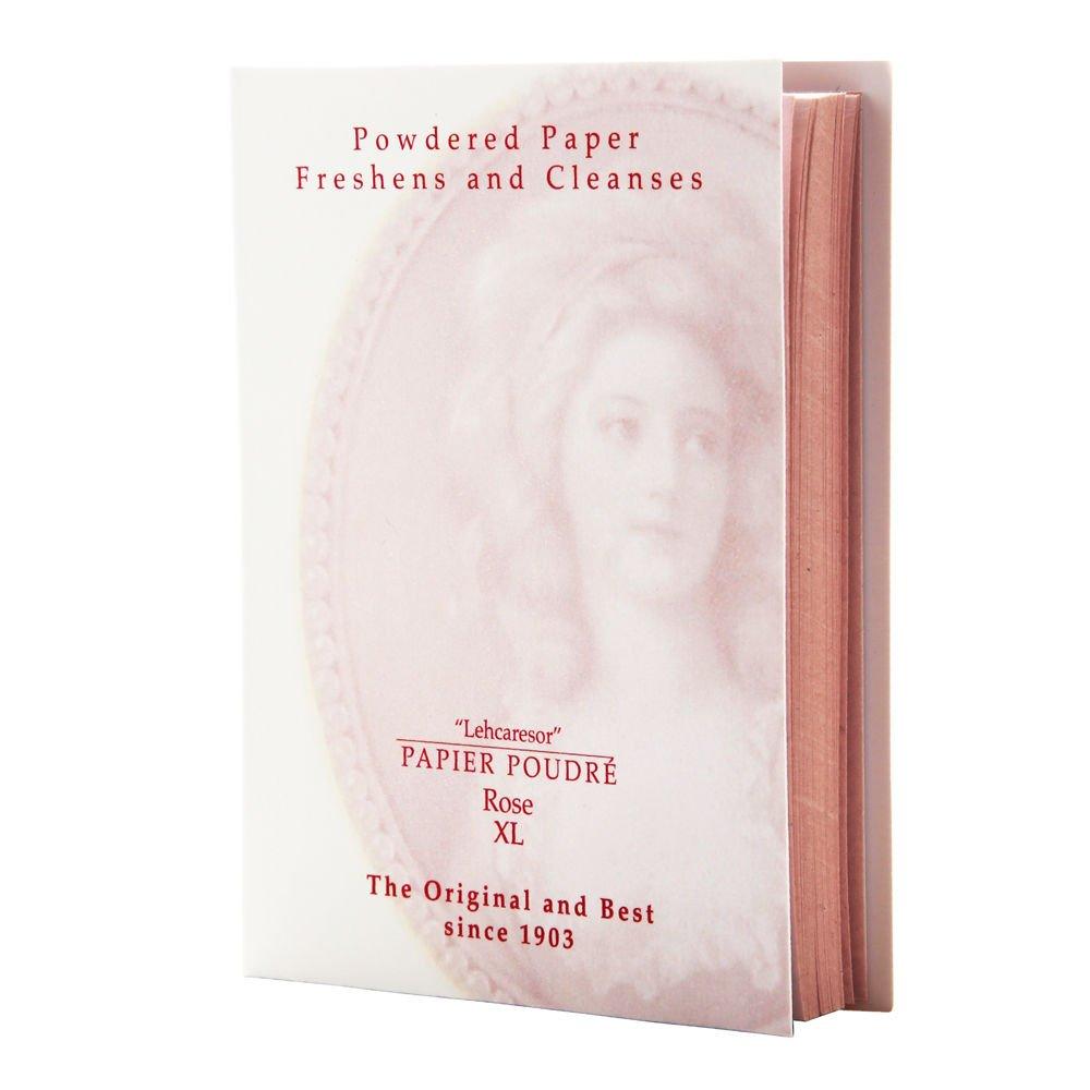 Papier Poudre Oil Blotting Papers - Rose 1 XL Booklet (65 Sheets) Papier Poudré
