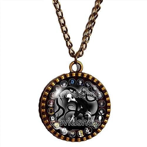 Amazon handmade design by shicong fashion jewelry symbol art handmade design by shicong fashion jewelry symbol art creepypasta creepy pasta slender man necklace pendant cosplay aloadofball Images