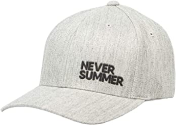 6769b2a6107 Never Summer Corporate Silicone Flex Fit Hat