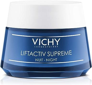 Vichy Liftactiv Supreme Crema De Noche Anti Arrugas Y Reafirmante Con Ramnosa Y ácido Hialurónico Piel Más Firme E Iluminada Mx