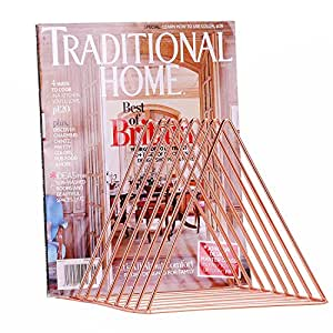 Amazon.com: West Beauty Copper Newspaper Magazine Holder
