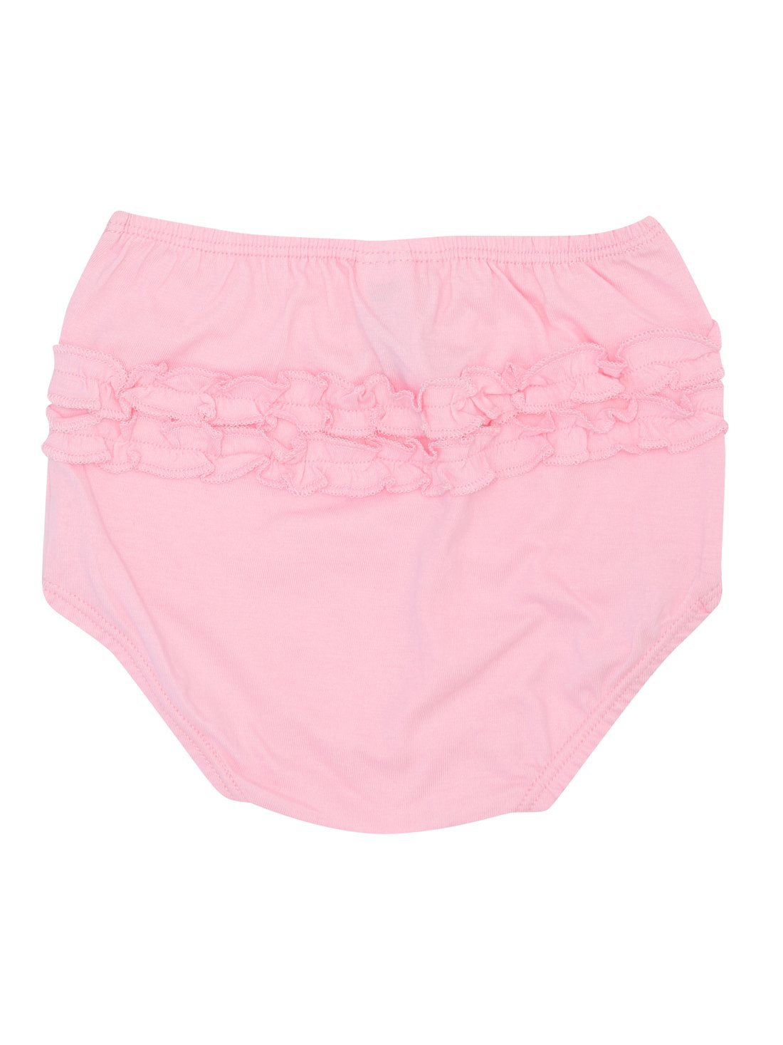 M& Co Baby Girl 100% Cotton Frilly Knickers Nappy Cover - Multipack 2 Pack