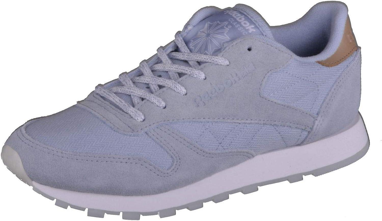 Reebok Damen Schuhe Sneaker Classic Leather Sea Worn blau