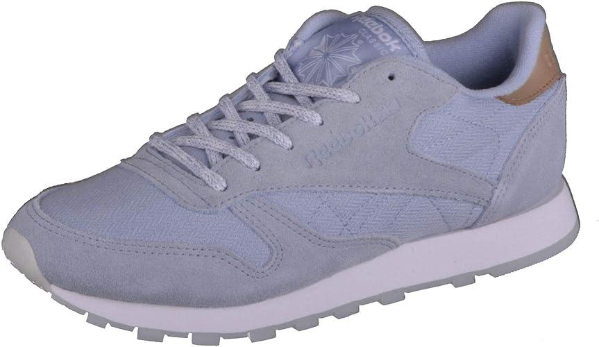 Reebok Classic Lthr Sea Worn Sneaker für Damen Blau