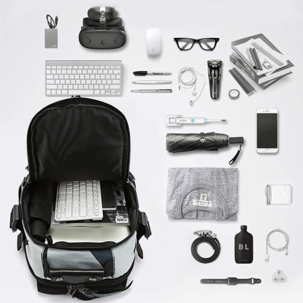 XIAOMIN XIAOMIN XIAOMIN Lässig Großer Rucksack Mit Laptop-Rucksack Mit USB-Ladeanschluss Rucksack,E-S:28  14  46cm(14inches) B07H37SX9B | Starker Wert  24e9f7