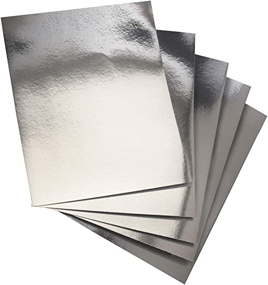 Oh So Silver 12x12 Cardstock Paper Pack w//Metallic and Foil by The Paper Studio