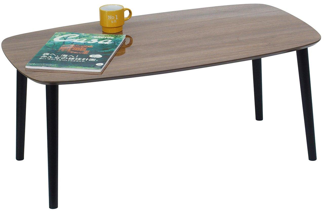 塩川光明堂 テーブル ルブロン BR B01N7MKU90 ブラウン ブラウン