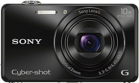 Sony Dsc Wx220b Digitalkamera 2 7 Zoll Schwarz Kamera