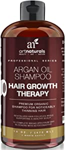 Art Naturals Organic Argan Oil Hair Loss Shampoo for Hair Regrowth