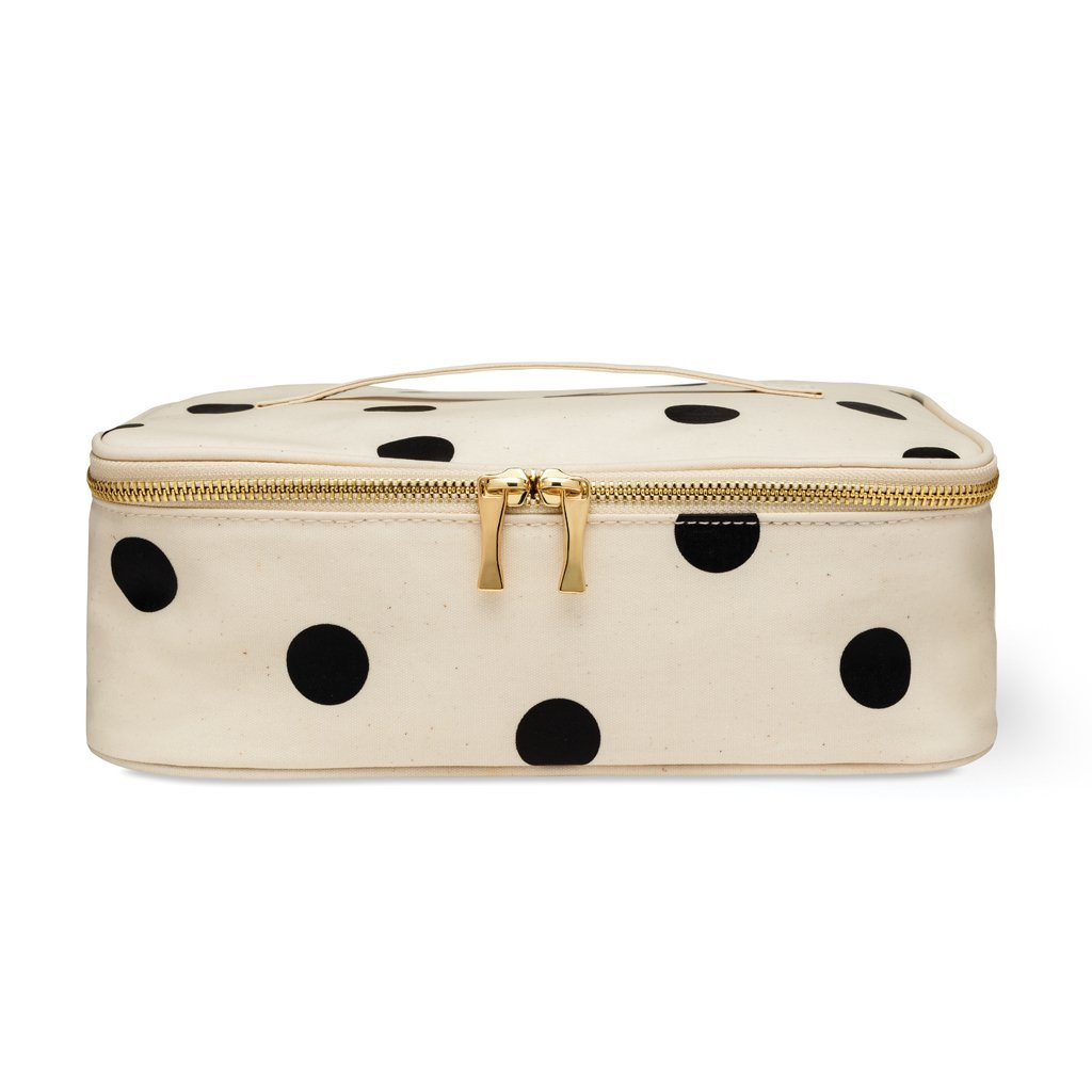 Kate Spade New York Women's Insulated Lunch Carrier, Deco Dot
