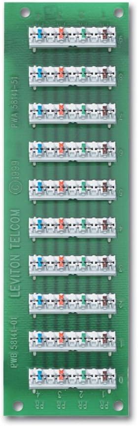 Leviton R00-47603-110 1 X 9 Bridged Teleboard