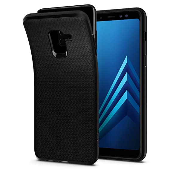 size 40 0fee4 94382 Spigen Liquid Air Armor Designed for Samsung Galaxy A8 Case (2018) - Matte  Black