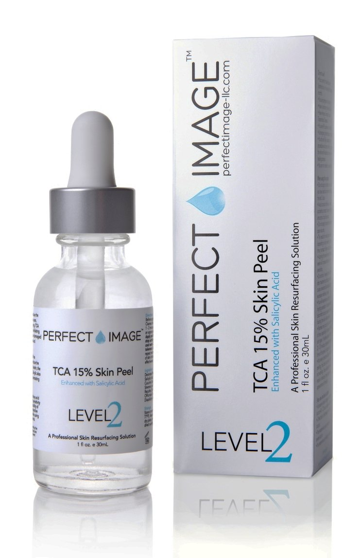 PERFECT IMAGE Tca 15% Gel Peel - Salicylic Acid 5% Enhanced With Botanical Extracts (Professional Quality Chemical Peel) TA12GP