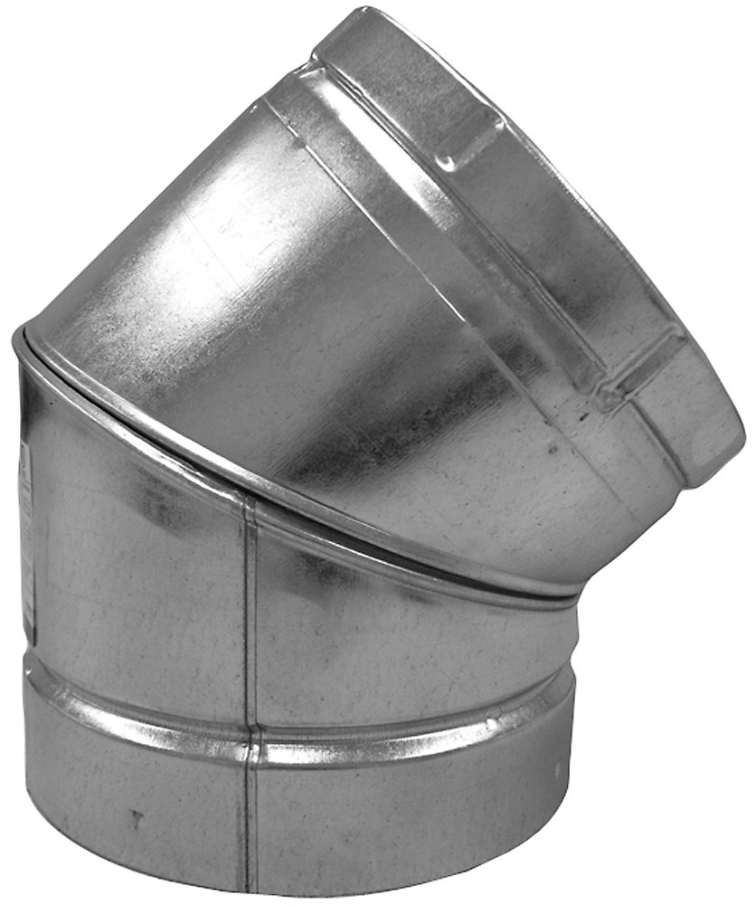 Speedi-Products BV-A45 03 3-Inch B-Vent 45 Degree Round Adjustable Elbow