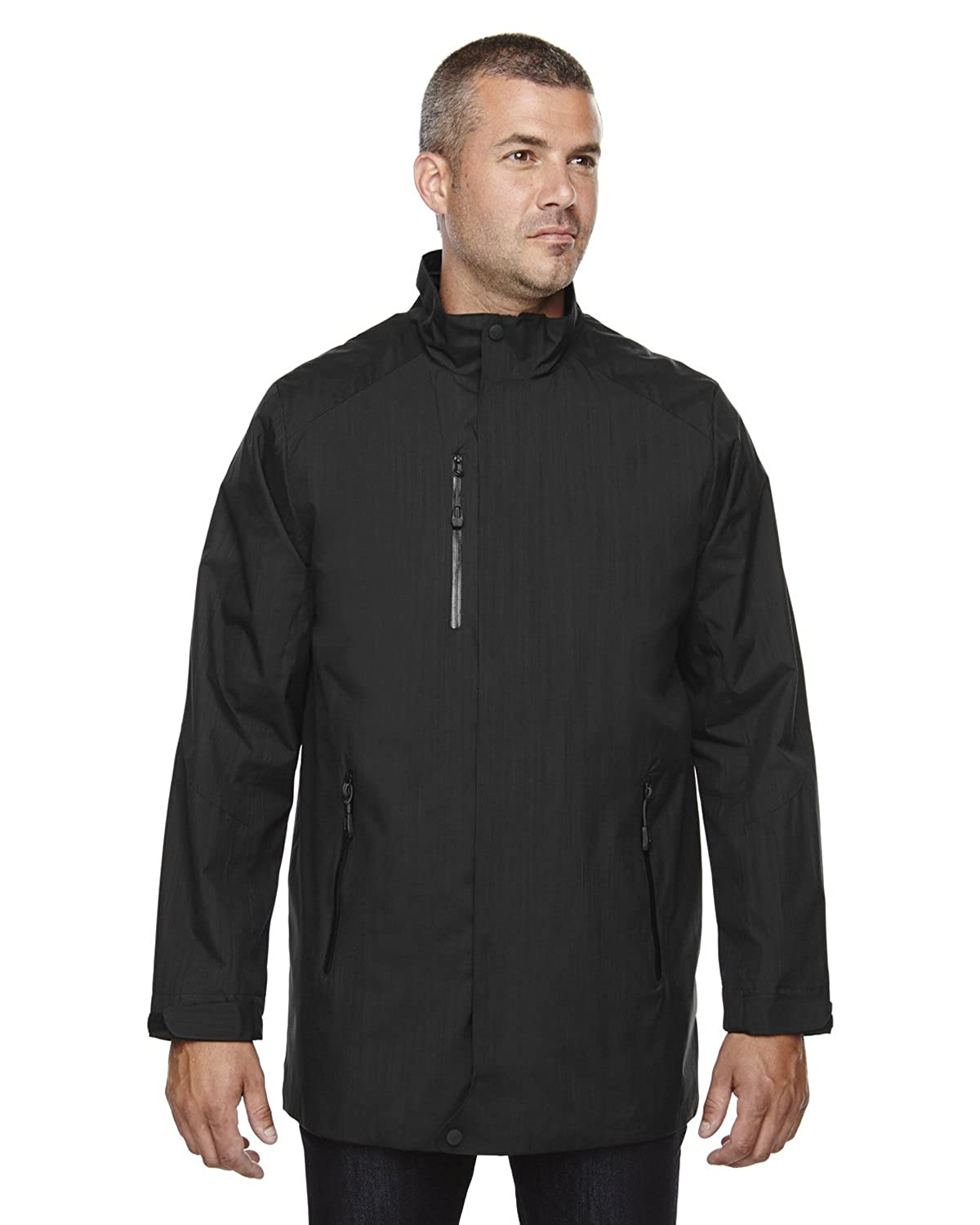 North End Metropolitan Mens City Length Lightweight Jacket