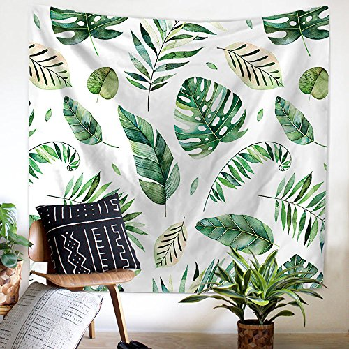 PYHQ Nature Leaves Tapestry Wall Hanging Urban Hippie Bohemi