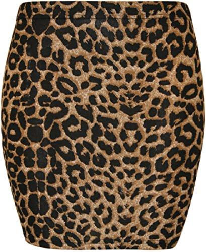 imprim Marron Jupes Tailles lopard Mini un Femmes avec jupe WearAll 42 36 qfSwPIa