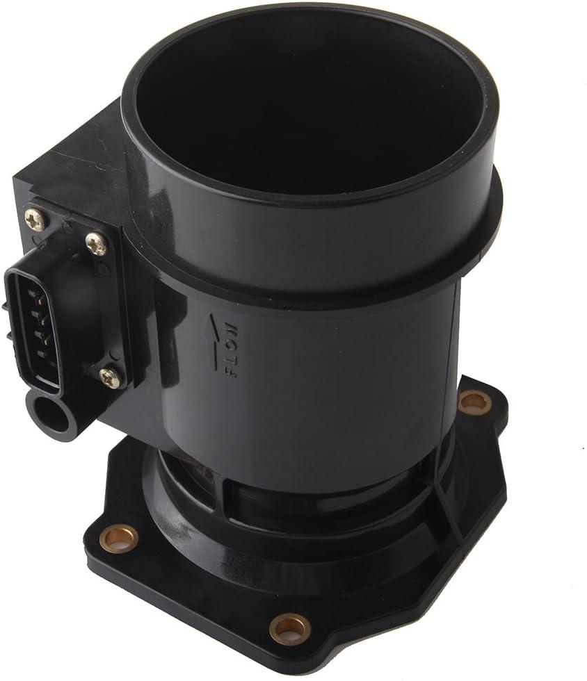 BLACK Filter For 1998 Legacy 2.5L H4 Mass Air Flow Sensor Intake Adapter