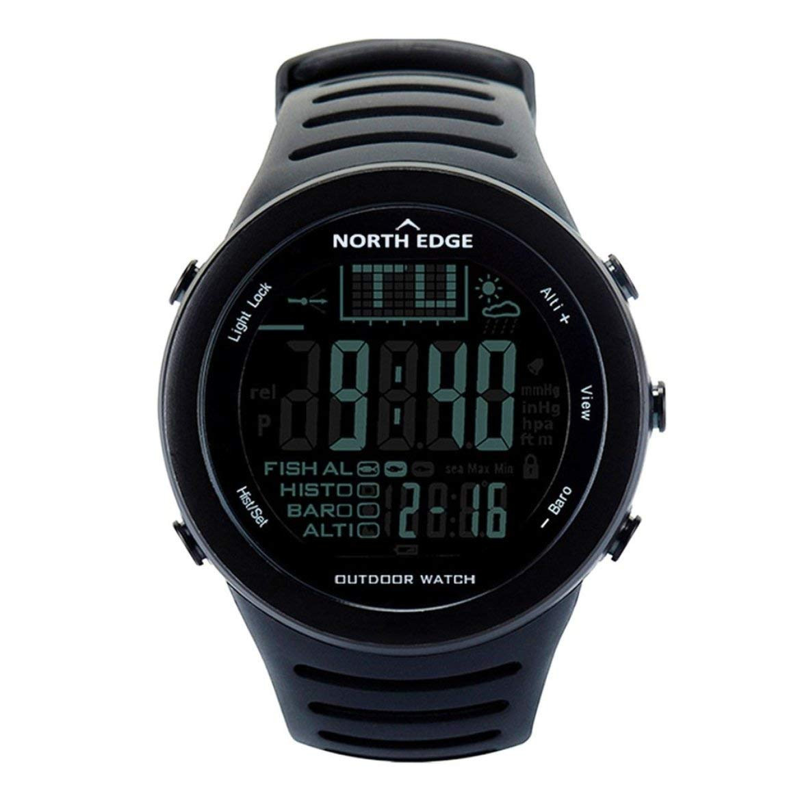 Moliies North Edge 720 Outdoor Angeln Uhr Höhenmesser Barometer Thermometer Männer Smart Digital Sportuhr Für Klettern Wandern
