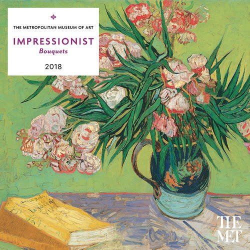 Impressionist Bouquets 2018 Wall Calendar