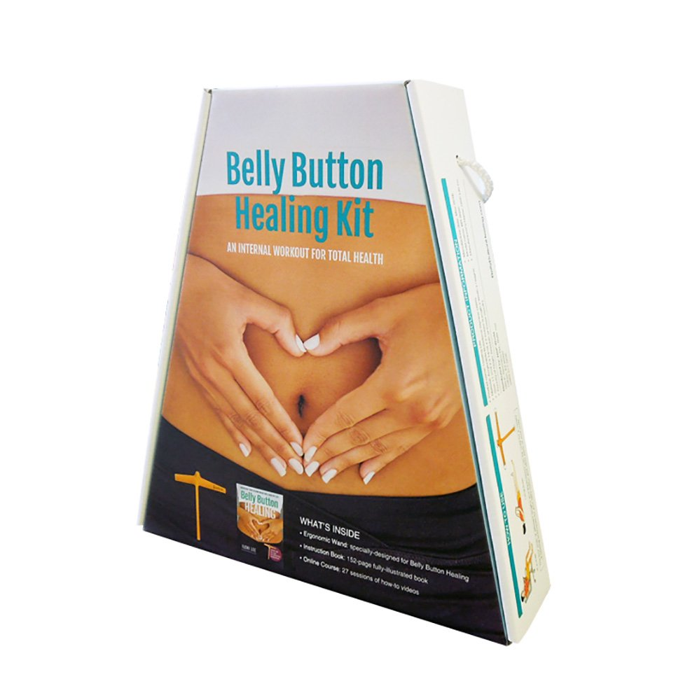 Belly Button Healing Kit for Stress Relief, Pain Relief, Gut Health, and an  Energy Boost