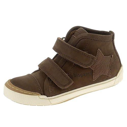 Sneaker Kinderschuhe Klettverschluss Bisgaard Braun Cacao 4070411663 DWIE2H9
