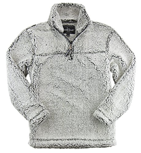 HTC Set: Boxercraft Sherpa Pullover, Plush and Cozy & Garment Guide, Fr. Grey XS