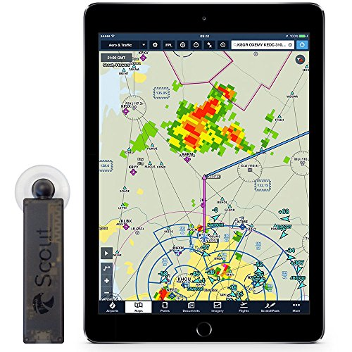 Scout Dual-Band ADS-B Receiver for Inflight Weather & Traffic - Made for ForeFlight by uAvionix by ForeFlight (Image #2)