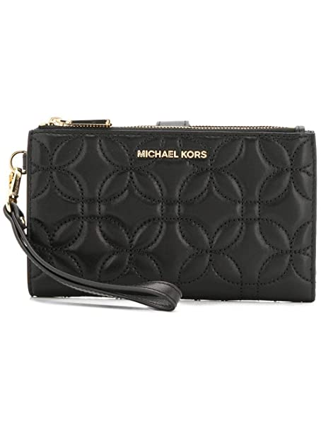 Michael By Michael Kors Mujer 32H8gfdw3t001 Negro Cuero Billetera: Amazon.es: Ropa y accesorios