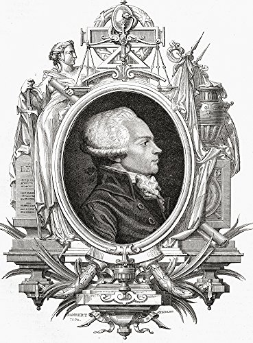 - Posterazzi Maximilien Robespierre 1758-1794. Jacobin Leader During French Revolution.from Histoire De La Revolution Francaise. Poster Print by Louis Blanc. (12 x 16)