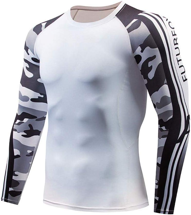 schnelltrockn Sports Fitness T-Shirt Thermik for M/änner ROLANDBOT Mens Compression Baselayer Hemd