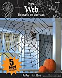 Amscam Giant Spider Rope Web, Black