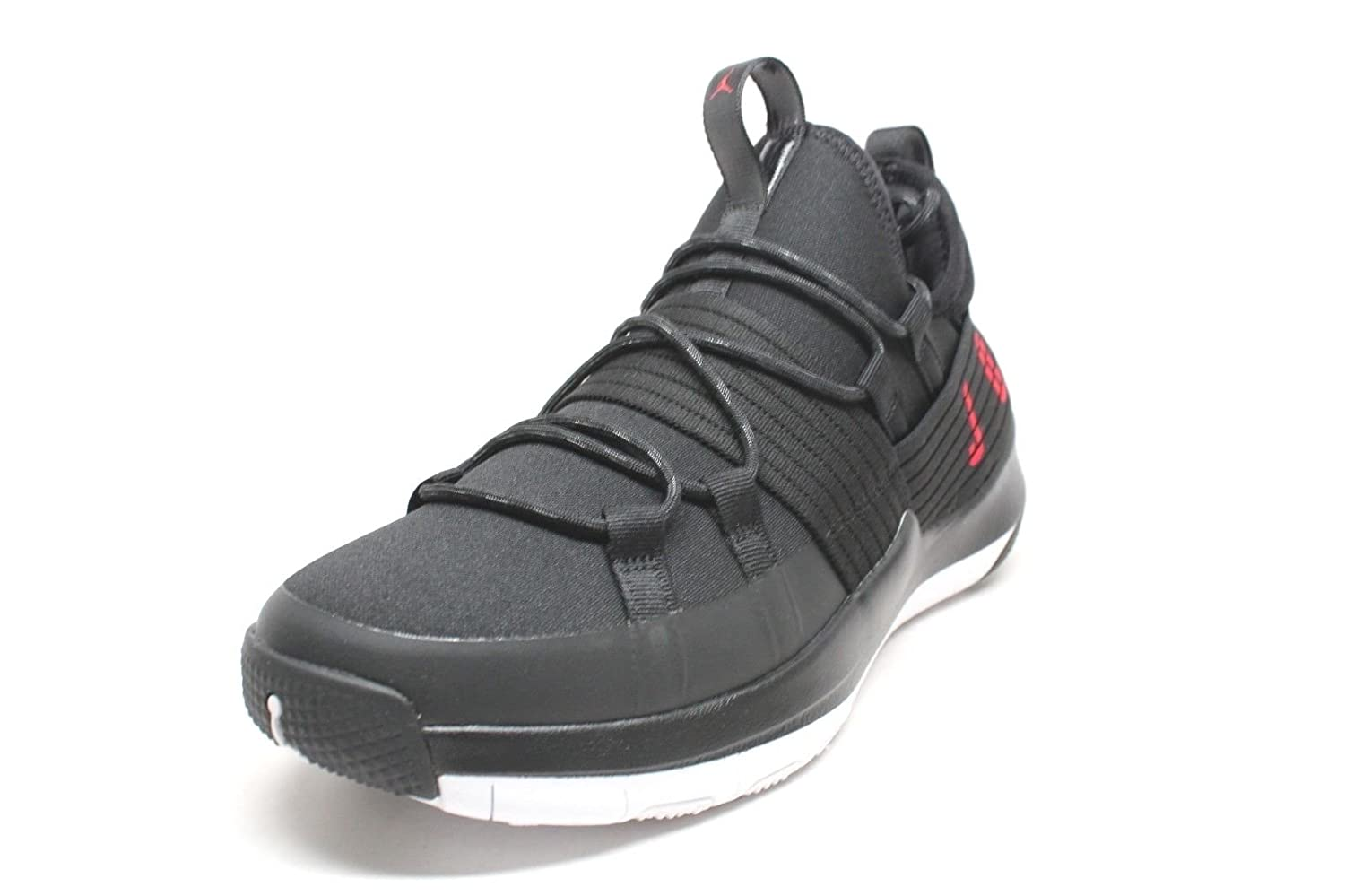 Men's Jordan Trainer Pro Black/Gym Red-White B078YFVM68 13 D(M) US