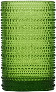 D&V By Fortessa Jupiter Iced Beverage Glass, 13 Ounce, Set of 6 (Fern)