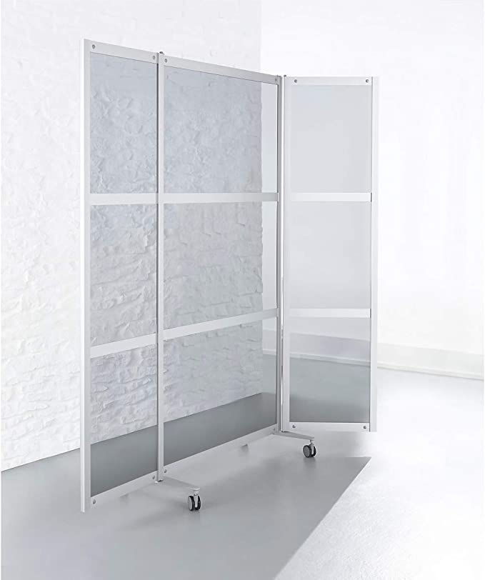 Mobile separador – de 3 piezas, aspecto – de vidrio transparente ...
