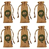Kmise Reusable Air Purifying Bag Bamboo Charcoal Bag Air Freshener Odor Deodorizer 75g All Nature Bamboo for Home Cars Closets Bathrooms and Pet Areas