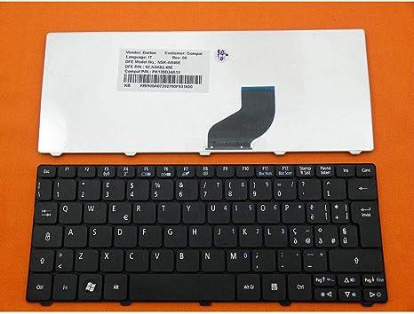 B Blesiya Teclado Italiano para Acer Aspire One D255 D255E D257 D260 D270 Series Laptop